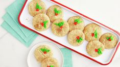 It's the season of cookies, but that doesn't mean you need hours of effort. Discover how to make snickerdoodles using Betty Crocker™ sugar cookie mix for a cookie treat that brightens any dessert tray. Once you mix up the dough (super easy), roll the dough balls in cinnamon and sugar. If you'd like to make sure your Christmas snickerdoodles are decorated for the season, use Betty Crocker™ red and green decorating icings.