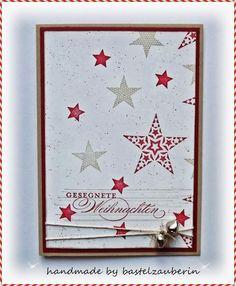 Simply Stars zu Weihnachten - bastelzauberin