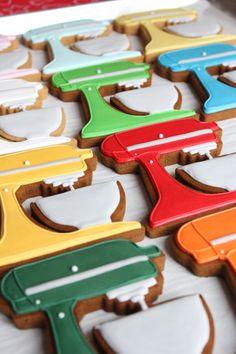 ack! mixer decorated cookies!