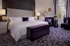 Purple and grey bedroom design  Purple and Grey Bedroom in Modern Minimalist Design Check more at http://www.bonsaikc.com/purple-and-grey-bedroom-in-modern-minimalist-design/