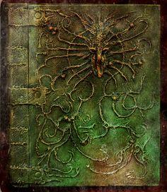 The stories in the book were older than mankind by MrZarono.deviantart.com on @DeviantArt