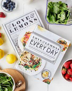 Gift our Cookbooks for a FREE Recipe E-book - Love and Lemons Vegetarian Cookbook, Vegetarian Recipes, Vegan Meals, Italian Wedding Cookies, My Favorite Food, Favorite Recipes, Vegan Enchiladas, Loaded Sweet Potato, Double Chocolate Cookies