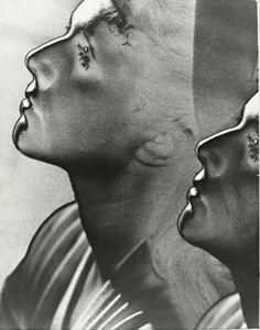 Man Ray - Solarised Double Portrait, 1930's. S)