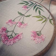 Love this floral embroidery