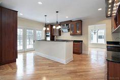 Modern Medium Wood Kitchen Cabinets #39 (Kitchen-Design-Ideas.org)