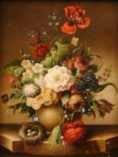Dutch floral painting