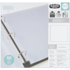 We R Memory Keepers Ring Page Protectors, 12 by 12-Inch, 50-Pack We R Memory Keepers http://smile.amazon.com/dp/B00C1R5J9W/ref=cm_sw_r_pi_dp_G3V9vb08F79JE