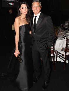 George Timothy Clooney&Amal Clooney