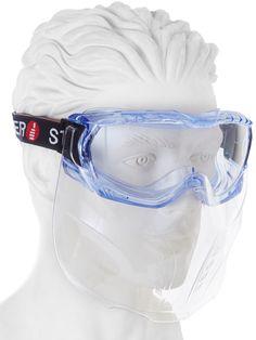 Vollsichtbrille mit Mundschutz Guard bei Kokott.com Partner, Maine, Career Wear