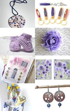 Purple Happiness by Asta on Etsy--Pinned with TreasuryPin.com
