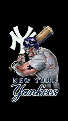 Yankees Logo, Damn Yankees, Yankees Fan, New York Yankees Baseball, New York Giants, Baseball Mom, Baseball Wallpaper, Mlb Wallpaper, Yankee Stadium