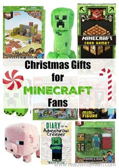 Minecraft Gift Ideas | Minecraft gifts, Gift and Kid activities