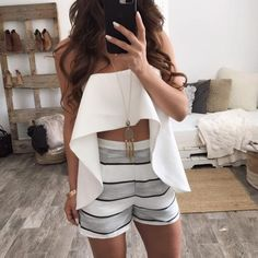 Cute Skirt Outfits, Cute Skirts, Cute Summer Outfits, Classy Outfits, Cool Outfits, Casual Outfits, Fashion Outfits, Fashion Catalogue, Outfit Combinations