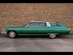 1976 Cadillac Fleetwood WAGON