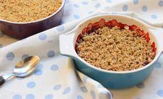 ovocný krambl (crumble) — spolu u stolu