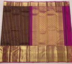 Ping me in 9171814428 for price details *Nakshatram Butties* *Body - Chocolate brown* *Pallu - rani with brown* *Pure Kanchipuram master weavers craftsmanship traditionally handwoven Silks sarees* *Purity* *Quality* *Genuine* *Pure and Authentic Kanchipuram Silks* *Silk mark certified by Silk Board of india*js Pure Silk Sarees, Chocolate Brown, Hand Weaving, India, Pure Products, Board, Hand Knitting, Goa India, Planks
