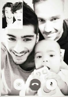 Imagine Liam and Zayn hanging out and they face time Louis and Harry with yours and Liam's daughter. Not mine but Zayn's and Liam's One Direction Photos, One Direction Harry, One Direction Memes, Larry Stylinson, Liam Payne, Zayn Malik, Louis Tomlinson, Greg Horan, James Horan