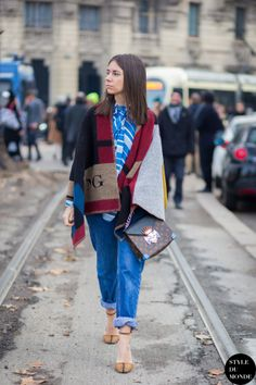 Natasha Goldenberg Street Style Street Fashion Streetsnaps by STYLEDUMONDE Street Style Fashion Blog