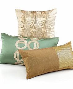 """Hotel Collection Cabochan 14\"""" x 24\"""" Decorative Pillow"""