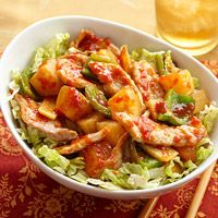 Sweet and Sour Pork~~23 Grams Per Serving. Use Napa Cabbage. Serving Is 1 Cup Of Cabbage & 1 Cup Of Entree. Filling!