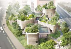 LOVE these roof-gardens! :D