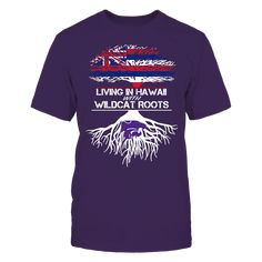 Kansas State Wildcats - Living Roots Hawaii T-Shirt, TIP: If you buy 2 or more (hint: make a gift for someone or team up) you'll save quite a lot on shipping.  Click the GREEN BUTTON, select your size and style.  The Kansas State Wildcats Collection, OFFICIAL MERCHANDISE  Available Products:          Gildan Unisex T-Shirt - $24.95 Gildan Women's T-Shirt - $26.95 District Men's Premium T-Shirt - $27.95 District Women's Premium T-Shirt - $29.95 Next Level Women's Premium Racerback Tank…