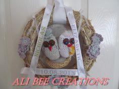 Ali Bee Creations: WEDDING DAY WREATH TUTORIAL