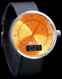 666 Barcelona Under Pressure II Orange Watch from Watchismo.com