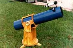DIY Dobsonian telescope. I actually already built one pre-pinterest. Pin now to fine tune/make a new one some day!