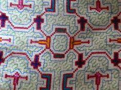 Ayahuasca Design Shipibo Handbag by EveryThingIsSacred on Etsy