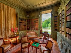 Château de Cheverny - Reading Room