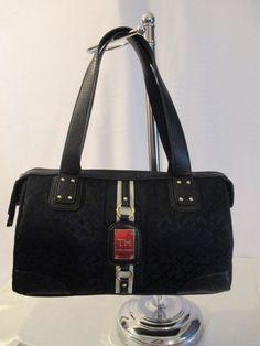 New Handbag Tommy Hilfiger Purse Satchel Color  Black Style 6914966 990 #TommyHilfiger #Satchel
