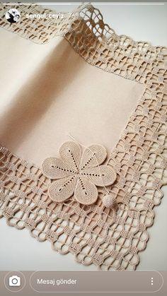 Crochet Ripple, Crochet Lace Edging, Crochet Square Patterns, Crochet Motifs, Crochet Borders, Crochet Chart, Filet Crochet, Crochet Designs, Crochet Flowers