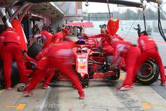 Sebastian Vettel Fastest as Lewis Hamilton Leaves it to Valtteri Bottas