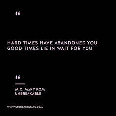 Book of the week 'Unbreakable' by M.C.Mary Kom #hustle #book #motivation #inspiration #entrepreneur #girlboss #boss #quote #wisdom #writer