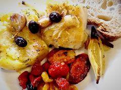 Bacalhau dourado com batatas ao murro no alecrim :: Pimenta na cozinha