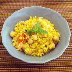 Tofu e muito mais: Salada de Couscous
