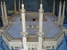 Al-Haram Mosque in Mecca - This is made entirely of toothpicks