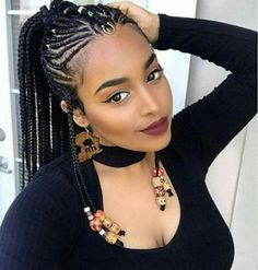 Braiding Hair Styles 75 Super Hot Black Braided Hairstyles To Wear  Pinterest