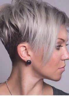 Die 128 Besten Bilder Von Kurzer Pixieschnitt Haarschnitt
