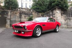 1974 Aston Martin V8 Coupe Auto Series 3 Red | eBay