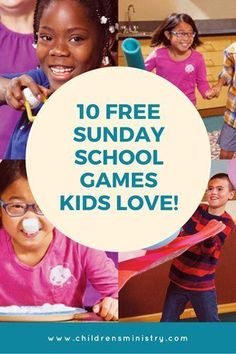 10 Active Indoor Sunday School Games That Help Kids Grow Their Faith Over 10 Free Sunday School Games that are active, fun and indoor. Great for kids to help them grow their faith and work out the squirm this season. Bible School Games, School Games For Kids, Sunday School Crafts For Kids, Group Games For Kids, Bible Activities For Kids, Youth Games, Sunday School Activities, Preschool Bible, Bible Lessons For Kids