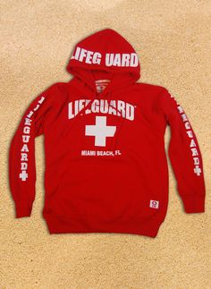 2734a41fbf04 Kids Lifeguard Pullover Hoodie Sweatshirt Hoodie Sweatshirts
