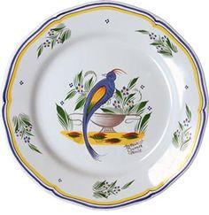 Quimper Faience HB Henriot Quimper handpainted plates.......Brittany,  | Finistère | Bretagne | #myfinistere
