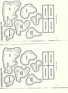 Continents and Oceans Cut Outs continents worksheet for kindergarten Car Pictures 736 x 1012 · 104 kB · jpeg Source Geography For Kids, Teaching Geography, World Geography, Geography Activities, Continents Activities, 3rd Grade Social Studies, Social Studies Activities, Teaching Social Studies, Continents And Oceans