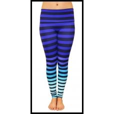 Striped Yoga Leggings