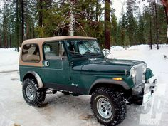 Jeep CJ-7 If you have your own good photos of BMW X3 plus nice MTB to go Ski Resort for MTB Trail.