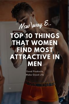 An Amazing article. They tell 10 things that women find Most attractive in Men and these things are really Effective and Work How To Look Attractive, Attractive Men, Men Tips, Men Style Tips, Relationship Topics, Relationships, Alpha Male Traits, Alpha Personality, Attraction Facts