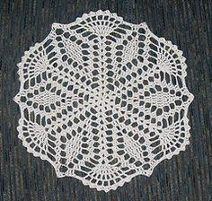 Mom's Crystal Star Doily, Free Crochet Pattern on Ravelry