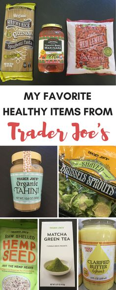 You don't have to spend big bucks to get healthy foods! Check out my must have list of healthy items from trader Joe's!